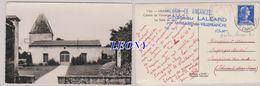 CPSM 9X14 De  LALEARD     (17) -  COLONIE De VACANCES A.E.B. & L. La SALLE De JEUX - CACHET COLONIE - Francia