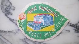 Étiquette 🏷 Hôtel Esplanade Zagreb - Hotel Labels