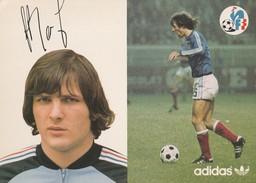 France - Footbal / Bathenay Dominique / Autograph / Adidas - Calcio