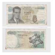 VINGT FRANCS  - 15-06-64 - 4 A  5347633 - [ 2] 1831-... : Royaume De Belgique