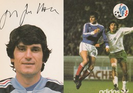 France - Footbal / Guillou Jean Marc / Autograph / Adidas - Calcio