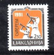 R1845 - MACEDONIA 1991 , Unificato N. -    ***  REFERENDUM - Macedonia