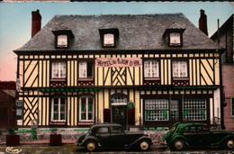 CPSM 76 LONDINIERES L'Hotel Du LION D'OR , Automobiles CITROËN TRACTION - Londinières
