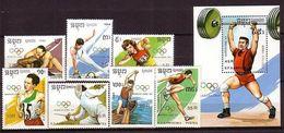 Kampuchea - Olympic Games 1991 MNH - Kampuchea