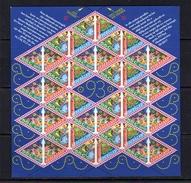 1993 Christmas MNH Block (240) - Blokken