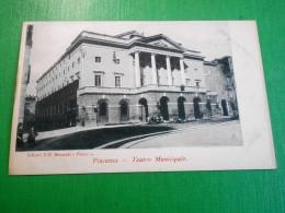 Cartolina Piacenza - Teatro Municipale 1900 Ca - Piacenza