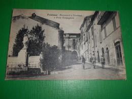 Cartolina Frosinone - Monumento A Turriziani E Porta Campagiorni 1920 Ca - Frosinone