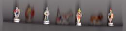Série 7 Fèves Brillantes LES GLADIATEURS / 2002 Jeux Du Cirque Romains - History