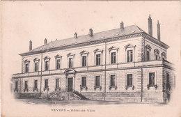 Carte Postale Ancienne De La Nièvre - Nevers - Hôtel De Ville - Vers 1900 - Nevers