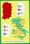 Sindacato UIL - Cartolina Per Rivendicazione Diritti Costituzionali - Sindacati