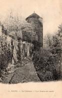 CPA    39    RANS---LE CHATEAU---LE CHEMIN DE RONDE---1909 - Other Municipalities