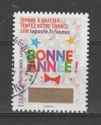 """FRANCE / 2016 / Y&T N° AA 1343 : """"Voeux à Gratter"""" (Bonne Année 2 étoiles) - Choisi - Cachet Rond - Frankreich"""