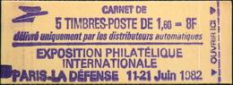 FR - CARNET 2155-C1 - Philex-France 82 - 5 Timbres NEUFS** - Carnets