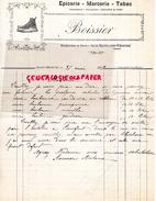 15- SAINT MARTIN SOUS VIGOUROUX- LETTRE MANUSCRITE SIGNEE BOISSIER ANTOINE- EPICERIE TABAC-CORDONNIER HOTEL-1919 - France