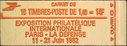 FR - CARNET 2102-C5a - Philex-France 82 - 10 Timbres NEUFS** - Carnets