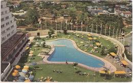 Caracas: Hotel 'Tamanaco' - Piscina / Swimming-pool - (1958)  - (Venezuela) - Venezuela
