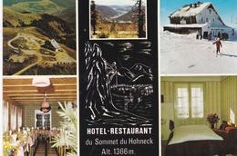 CPM   Du  HOHNECK  (88)  -  Hotel  Restaurant  Du  Sommet  Du  Hohneck - Propr. R. BERNEZ      //  TBE - Frankrijk