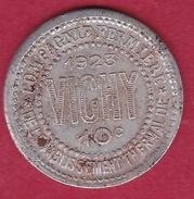 Chambre De Commerce - Vichy 10 C 1923 - Monétaires / De Nécessité