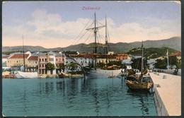 Cirkvenica, Um 1910, Adria, Hafen Mit Seglern - Croatia