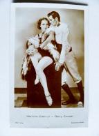Old Post Card Film Cinema Movie Actors Ross Marlene Dietrich Garry Cooper 5381/1 - Actors