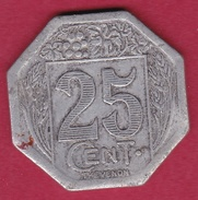 Chambre De Commerce - Royan 1922 - 25 C - Monétaires / De Nécessité