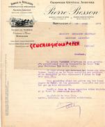 03 - MONTLUCON- BELLE FACTURE PIERRE BESSON- COMPTOIR GENERAL AGRICOLE- FORGE MACHINES AGRICOLES- GRAINES- 1926 - France