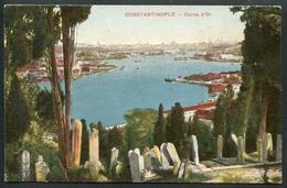 Constantinople, Corne D`Or, Goldenes Horn Mit Friedhof, Um 1910 - Türkei