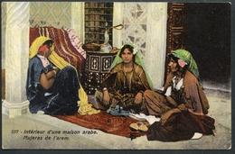Interieur D`une Maison Arabe, Mujeras De L`arem, Harem, Constantinople, 2.7.1918 - Türkei
