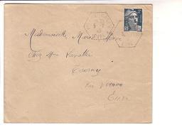 Posta Automobile Rurale Correspondant Postal Eure Vernon CP N°11 Gandon - Storia Postale