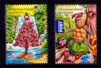 Christmas Island 2015 Christmas Set Of 2 MNH - Christmas Island