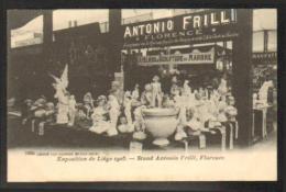 Liège - Edit. D.V.D. N° 12224 - Expo 1905 - Atelier De Sculpture De Marbre - Antonio Frilli - Florence - Luik