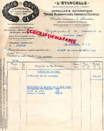 63 -  GERZAT - FACTURE L' ETINCELLE- MAGNIN- SEMOULERIE AUTOMATIQUE- PATES ALIMENTAIRES SEMOULES TAPIOCAS-1928-M. MONAT - France
