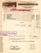 63 - CLERMONT FERRAND- BELLE FACTURE L' ETOILE D' AUVERGNE- DISTILLERIE VINS REUNIS- 12 BD. PASTEUR- 1931 - France