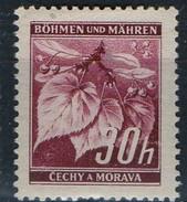 PIA - BOEMIA E MORAVIA - 1939-40 -  Albero Dai Fiori Profumati :  - (Yv 24) - Boemia E Moravia