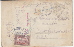 Hungary Air Mail Stamp And Special Pmk On Postcard Travelled 1920  B170510