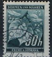 PIA - BOEMIA E MORAVIA - 1940-41 -  Albero Dai Fiori Profumati :  - (Yv 43) - Boemia E Moravia