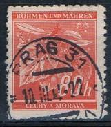 PIA - BOEMIA E MORAVIA - 1940-41 -  Albero Dai Fiori Profumati :  - (Yv 45) - Boemia E Moravia