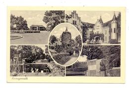 5120 HERZOGENRATH, Mehrbild-AK 1952, Bahnpost Aachen - Düsseldorf - Herzogenrath