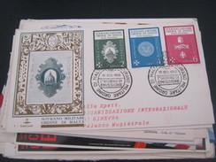 BUSTA PRIMO GIORNO SOVRANO MILITARE ORDINE DI MALTA 1966 - Organizations