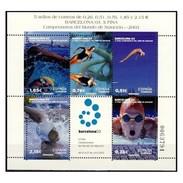 ESPAGNE SPANIEN SPAGNA SPAIN ESPAÑA 2003 WATERPOLO CHAMPIONS ED HB3991 YV BF116-3560-64 MI B117-3846A-50 SC SH3221