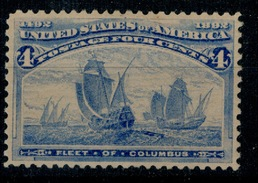 USA US 1893 Sc.233 Columbian Exposition,Columbus 4 Cent **MNH - Unused Stamps