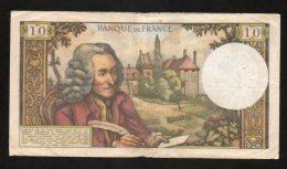 Banconota FRANCIA 10 FR. Circolata 4/6/1964 (BB) - 1959-1966 Franchi Nuovi