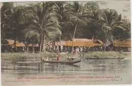 EBOINDA (COTE D'IVOIRE) - SUR LA LAGUNE ABI - Côte-d'Ivoire