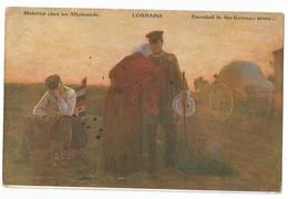 Mobilisé Chez Les Allemands Lorraine - Lorraine