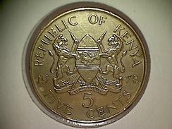 Kenia 5 Cents 1978 - Kenya