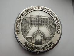 Superbe Coffret Bijoux , Bureau  , Jacques Chirac , Le Président De La République Française , Elysée , Paris - Obj. 'Remember Of'