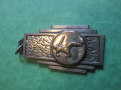 Médaille De Sport/ Foot-Ball/ Bronze Chromé/Vers 1930-1950                                          SPO116 - Soccer