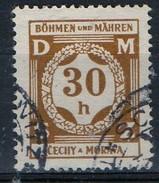 PIA - BOEMIA E MORAVIA - 1940 - Francobollo Di Servizio :  - (Yv 1) - Boemia E Moravia