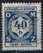 PIA - BOEMIA E MORAVIA - 1940 - Francobollo Di Servizio :  - (Yv 2) - Boemia E Moravia