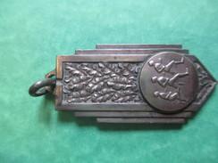 Médaille De Sport/Course à Pied/ Bronze Chromé/Vers 1930-1950                                          SPO117 - Athlétisme
